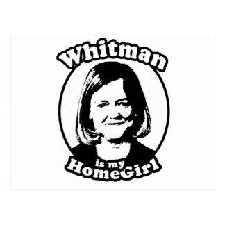Whitman is my homegirl postcard
