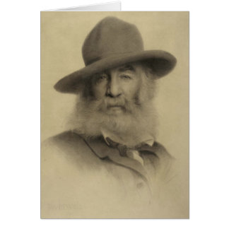 Whitman ❝Keep Your Face Always Toward Sunshine❞ Greeting Card