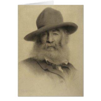 "Whitman ""Keep your face always toward sunshine"" Greeting Card"