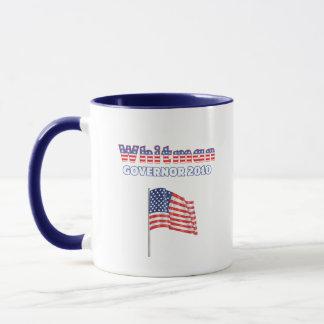 Whitman Patriotic American Flag 2010 Elections Mug