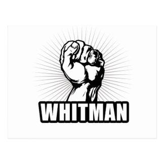 WHITMAN POWER POSTCARD