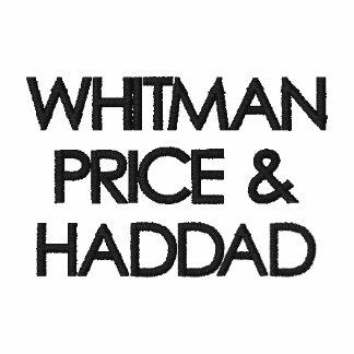 WHITMAN PRICE &HADDAD EMBROIDERED POLO SHIRT