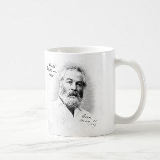Whitman Quotation ❝Keep your face to the sunshine❞ Coffee Mug