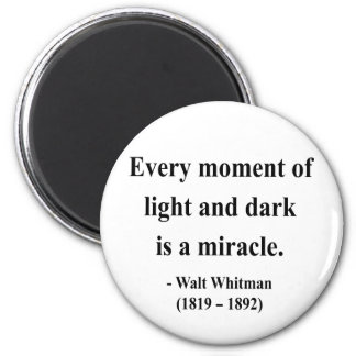 Whitman Quote 11a Refrigerator Magnet
