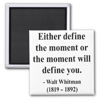 Whitman Quote 2a magnet