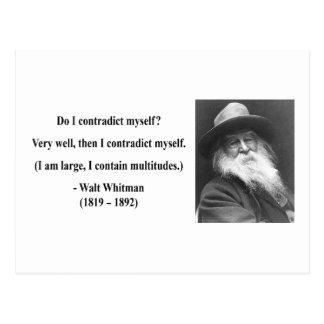 Whitman Quote 6b Postcards