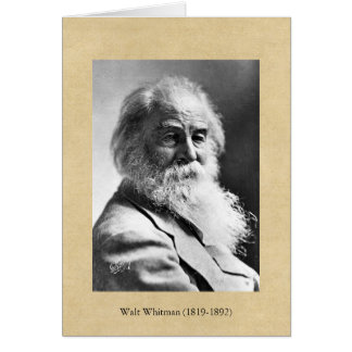 Whitman ❝Re-examine All You Have Been Told❞ Quote Card