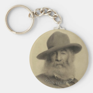Whitman The Good Grey Poet Key Chains