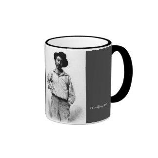 Whitman when Young Ringer Coffee Mug