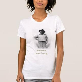 Whitman when Young T-Shirt