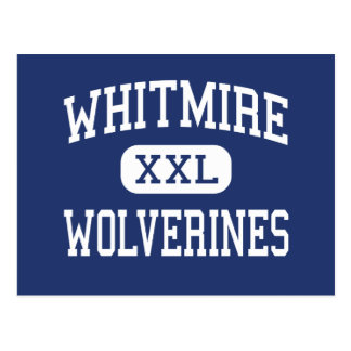 Whitmire - Wolverines - High - Whitmire Postcard