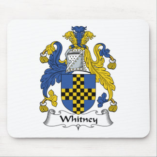 Whitney Family Crest Mouse Pad