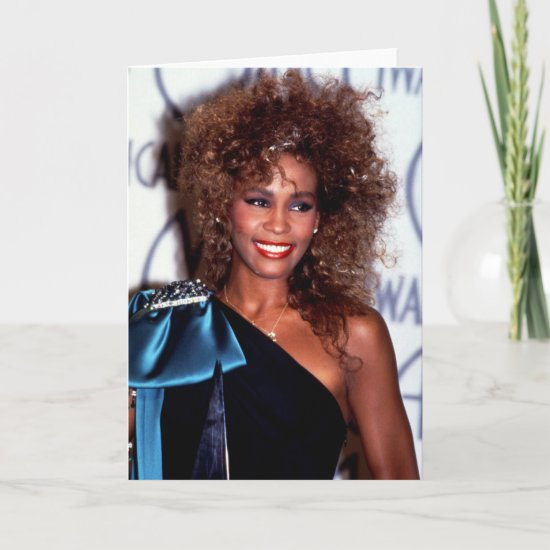 Whitney Houston | American Music Awards Card