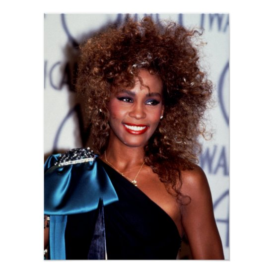 Whitney Houston   American Music Awards Poster