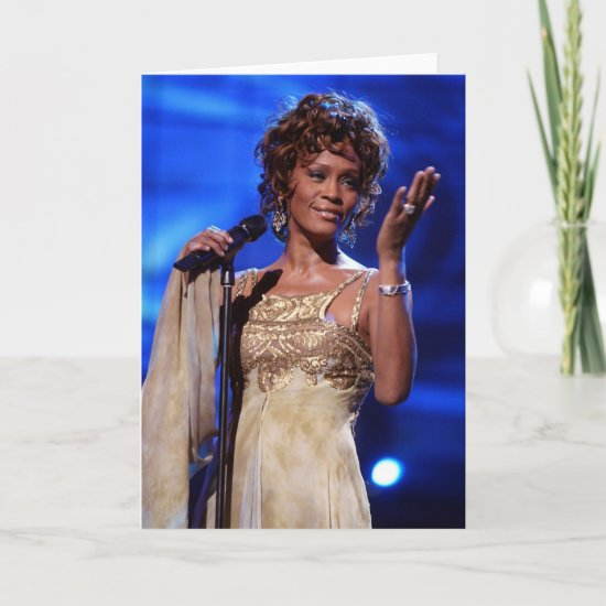 Whitney Houston | At The World Music Awards 2005 Card