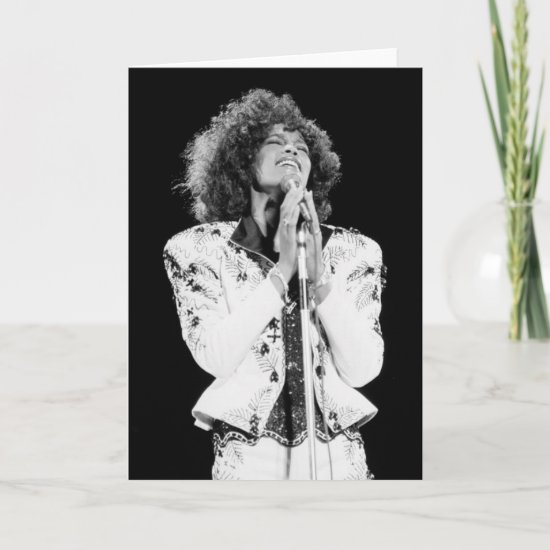 Whitney Houston | Performing BW Card