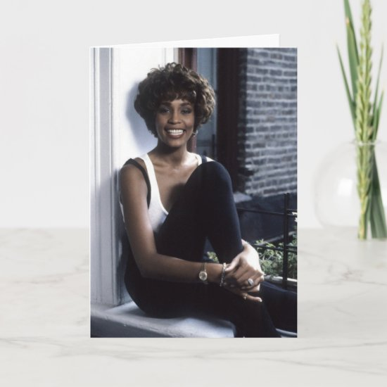 Whitney Houston | VH1 Interview October 1990 Card
