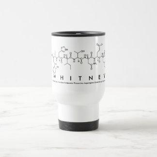Whitney peptide name mug