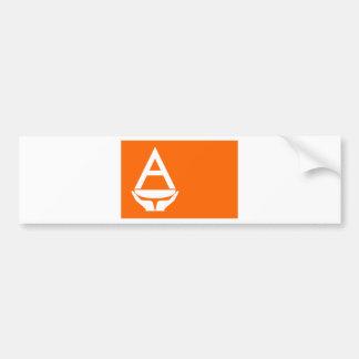 Whitney Smith flag Antarctica Bumper Sticker