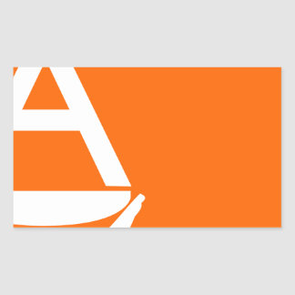 Whitney Smith flag Antarctica Rectangular Sticker