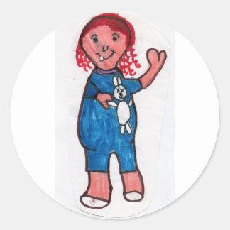 Whitney Stationery Classic Round Sticker
