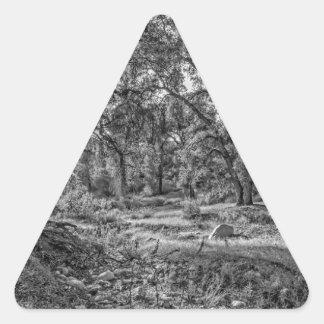 Whitney Valley Oaks Triangle Sticker