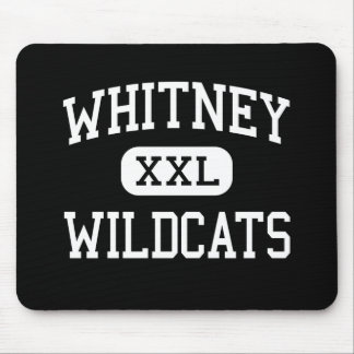 Whitney - Wildcats - High - Cerritos California Mouse Pad