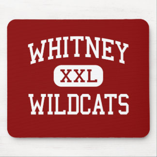Whitney - Wildcats - High - Rocklin California Mouse Pad