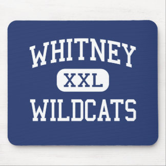 Whitney - Wildcats - High School - Whitney Texas Mouse Pad