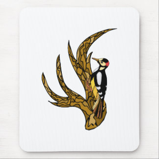 Whitney Woodpecker Mouse Pad