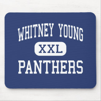 Whitney Young - Panthers - High - Los Angeles Mouse Pad