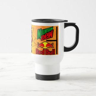 Whit's Go-Go Juice 15 Oz Stainless Steel Travel Mug