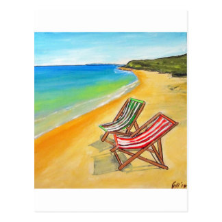 Whitsunday Beach Chairs Postcard