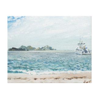 Whitsunday Islands Australia. 1998 Canvas Print
