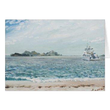 Beach Themed Whitsunday Islands Australia. 1998 Card