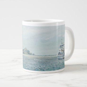 Beach Themed Whitsunday Islands Australia. 1998 Giant Coffee Mug