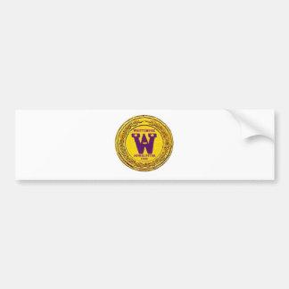 Whittemore Newsletter  Products Bumper Sticker