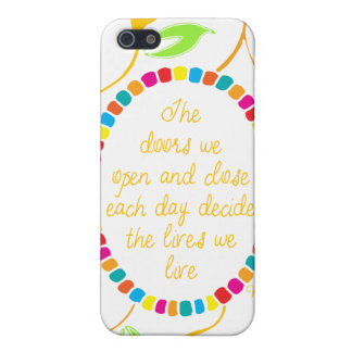 Whittemore: The doors we open and close.. iPhone 5 Cover