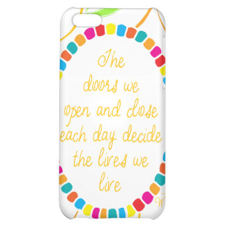 Whittemore: The doors we open and close.. iPhone 5C Cover
