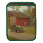 Whitter Sawmill Truck Oil Painting i-Pad Sleeve Sleeves For iPads