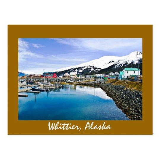 Whittier, Alaska, los E.E.U.U. Postales