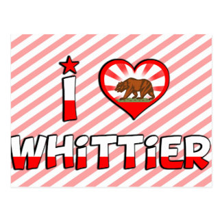 Whittier, CA Postcard