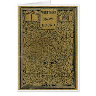 """""""WHITTIER'S SNOWBOUND"""" Greeting Card"""