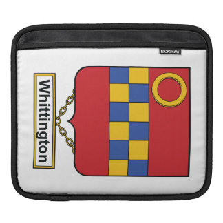 Whittington Family Crest iPad Sleeve