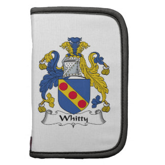 Whitty Family Crest Planificadores