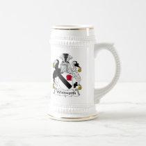Whitworth Family Crest Mug