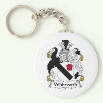 Whitworth Family Crest Keychain
