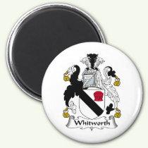 Whitworth Family Crest Magnet