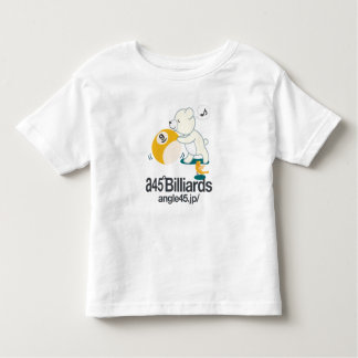 Whity and nine ball of small bear toddler t-shirt