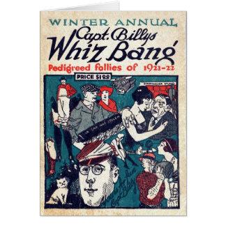 Whiz Bang - tarjeta de capitán Billy